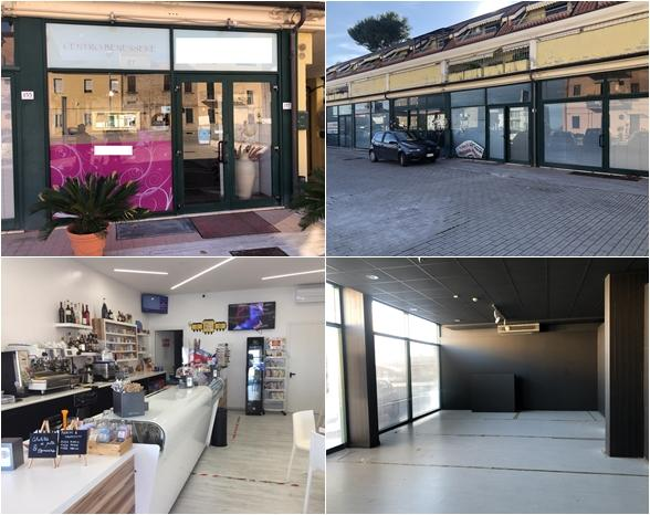Commercial buildings and garages - Via Rosselli
