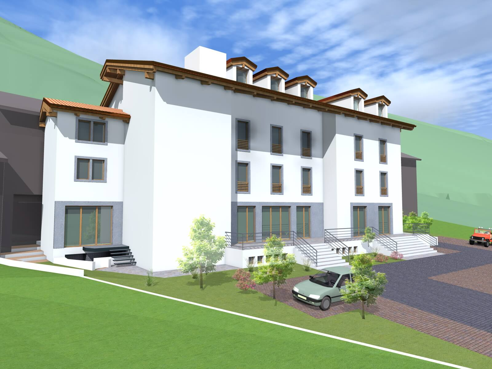 Building land and hotel project