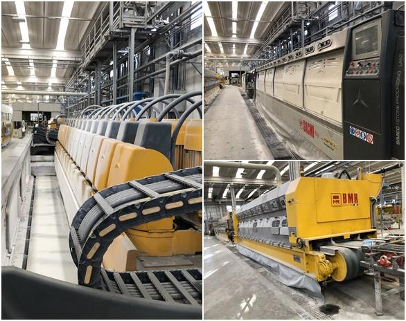Machinery and lines for ceramic processing